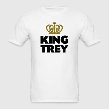 King trey name thing crown - Men's T-Shirt