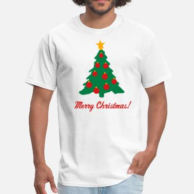 Christmas Tree Decorations Christmas Tree and Decorations - Men's T-Shirt