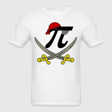Pi - Rate Pirate - Men's T-Shirt