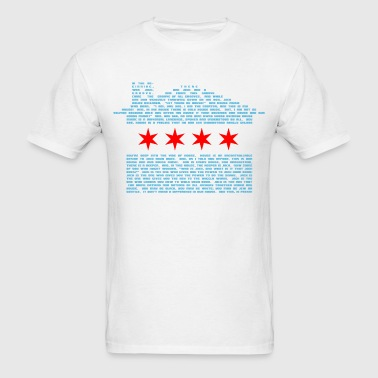 Jack's Chicago House Flag - Men's T-Shirt