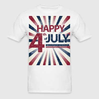 Happy 4th of July Vintage - Men's T-Shirt
