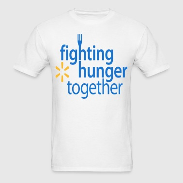 Fighting hunger. - Men's T-Shirt