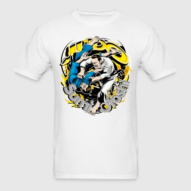 Judo Throw Design Sumi Otoshi - Men's T-Shirt