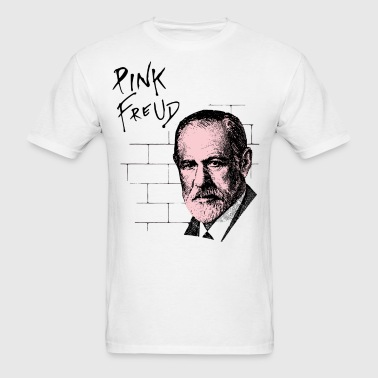 Pink Freud Sigmund Freud - Men's T-Shirt