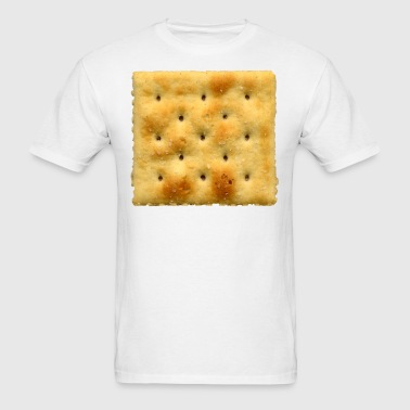 White Saltine Soda Cracker - Men's T-Shirt