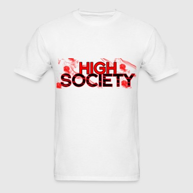 highsocietyRED - Men's T-Shirt