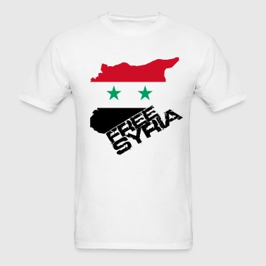 Free Syria - Men's T-Shirt