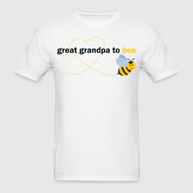 Great Grandpa to bee - Men's T-Shirt