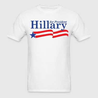 Hillary Clinton For President 2016 - Men's T-Shirt