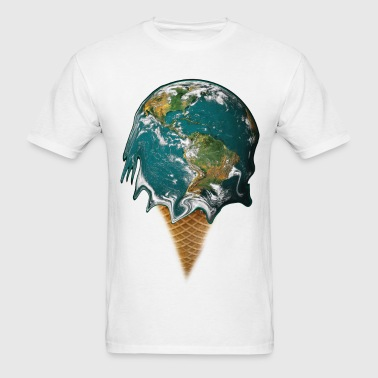 Icecream Earth - Men's T-Shirt