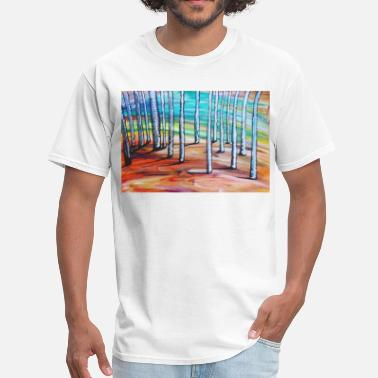 Forest birch forest - Men's T-Shirt