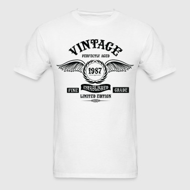 Vintage Perfectly Aged 1987 - Men's T-Shirt