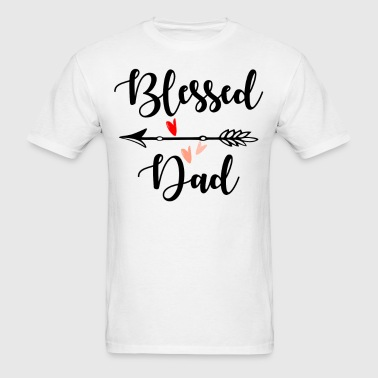 Blessed Dad - Men's T-Shirt