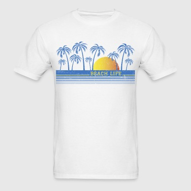 Beach Life 90 - Men's T-Shirt