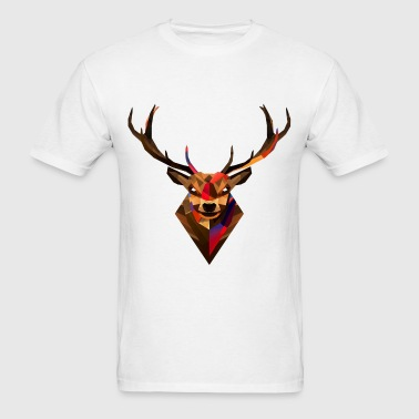 pixel deer - Men's T-Shirt