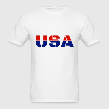 USA Team America Trendy Cool Winter Sports Games - Men's T-Shirt