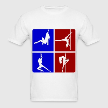 pole girl 111.png - Men's T-Shirt
