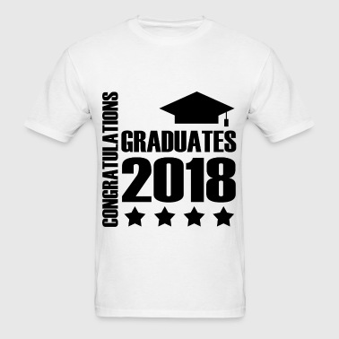 CONGADUATION GRADUATES 20181.png - Men's T-Shirt