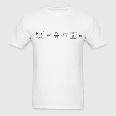 Equation Shirt - Genius - Men's T-Shirt