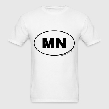 MN Minnesota - Men's T-Shirt