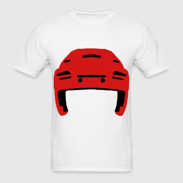 Hockey Helmet - Men's T-Shirt
