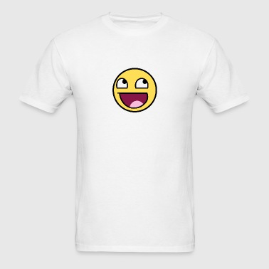 Awesome Smiley - Men's T-Shirt