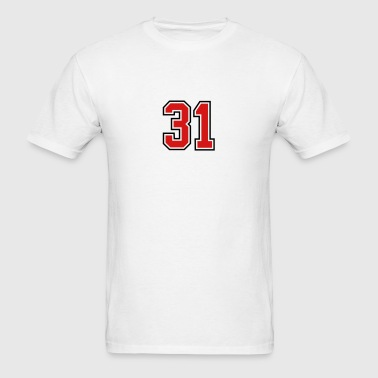 31 sports jersey football number - Men's T-Shirt