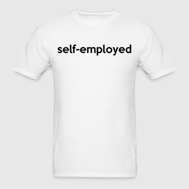self-employed - Men's T-Shirt