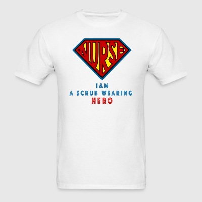 the super nurse - Men's T-Shirt
