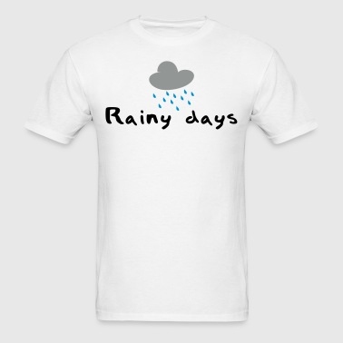 Rainy days - Men's T-Shirt