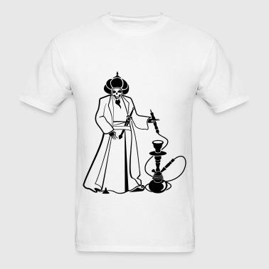 Skull Hookah - Men's T-Shirt