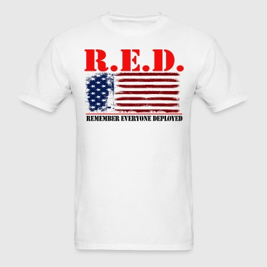 R.E.D US by GF APPAREL - Men's T-Shirt