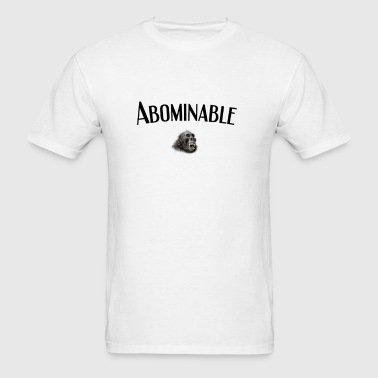 Yeti or Abominable Snowman  - Men's T-Shirt