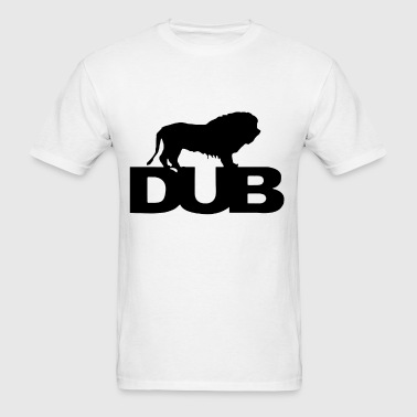 lion judah dub dubstep reggae rasta xmas birthday - Men's T-Shirt
