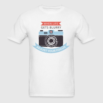 Cool Camera T-shirt - Men's T-Shirt