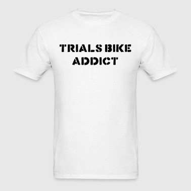 trials bike addict - Men's T-Shirt