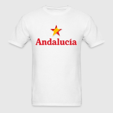 Stars of Spain - Andalucia - Men's T-Shirt