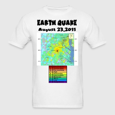 Earth Quake -1 - Men's T-Shirt