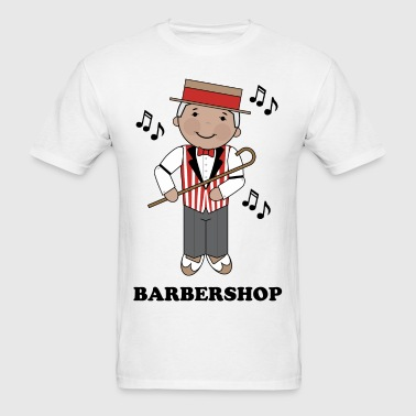 Barbershop Singer Music - Men's T-Shirt