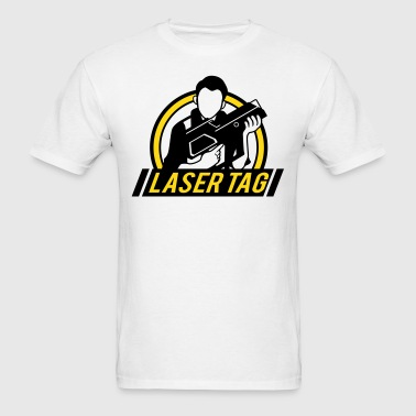 Laser Tag Logo - Men's T-Shirt