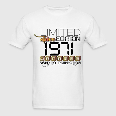 LIMITED EDITION 1971 - Men's T-Shirt