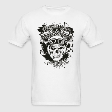 cumbria custom bike show - Men's T-Shirt