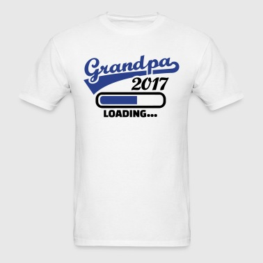 Grandpa 2017 - Men's T-Shirt
