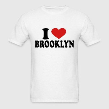 I Love Brooklyn - Men's T-Shirt