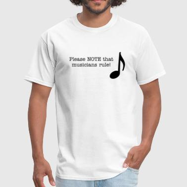 Eighth Note - Men's T-Shirt