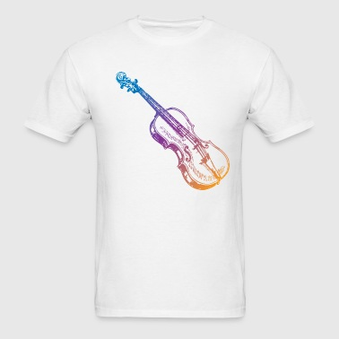 Violin Musician Art - Men's T-Shirt