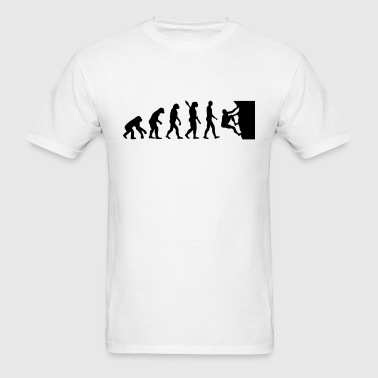 Evolution climbing - Men's T-Shirt