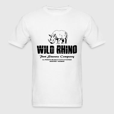 Wild Rhino - Men's T-Shirt