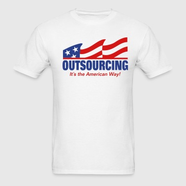 Outsourcing - Men's T-Shirt