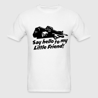 little friend  - Men's T-Shirt